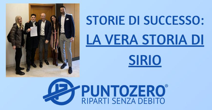 STORIE DI SUCCESSO: LA VERA STORIA DI SIRIO